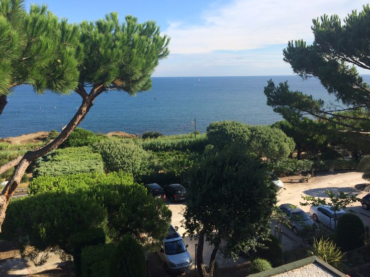 View from hotel, Collioure, France.