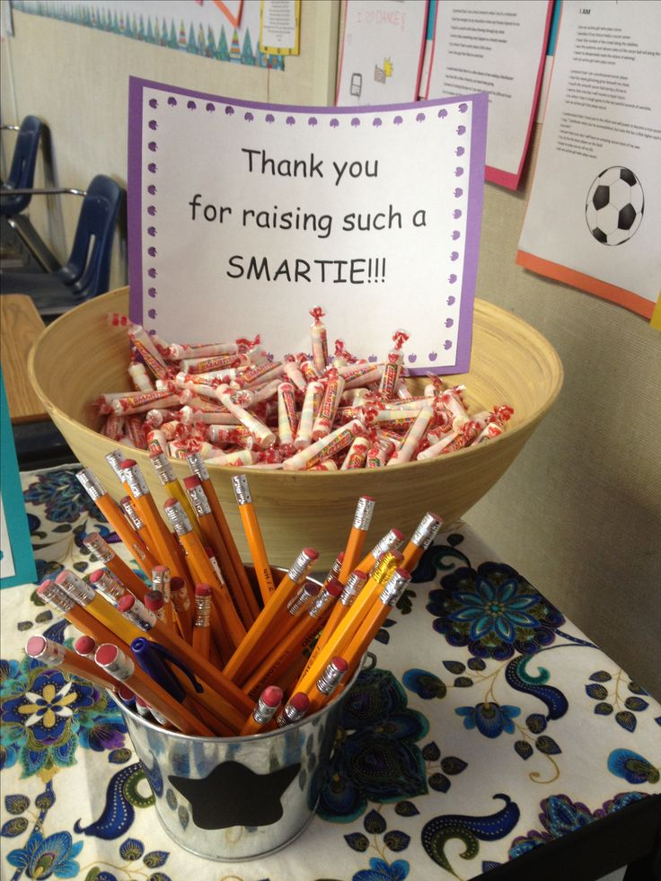 Back to School night ... Thank you for raising a SMARTIE!