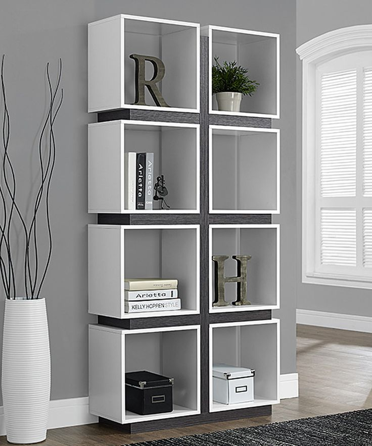 Another great find on #zulily! White Cube Bookcase by Monarch Specialties #zulilyfinds