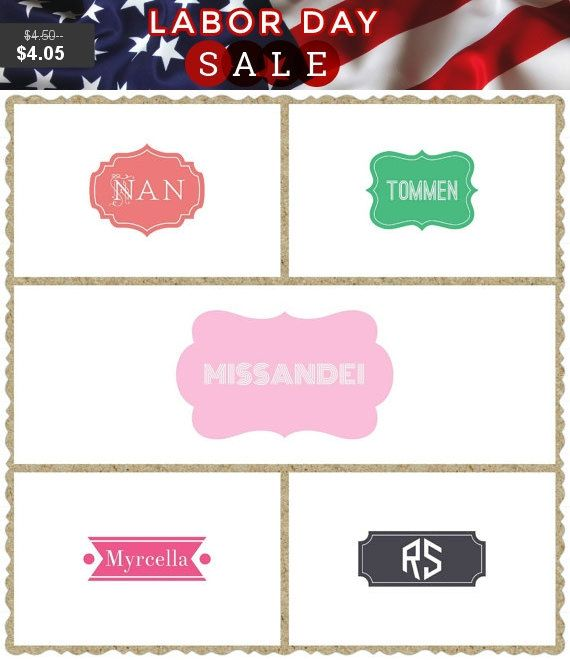 Best  Personalized Stickers Ideas On Pinterest Custom Decals - Monogrammed custom vinyl decals for car