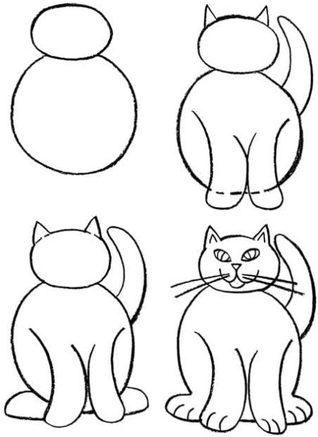 how to draw a person using shapes