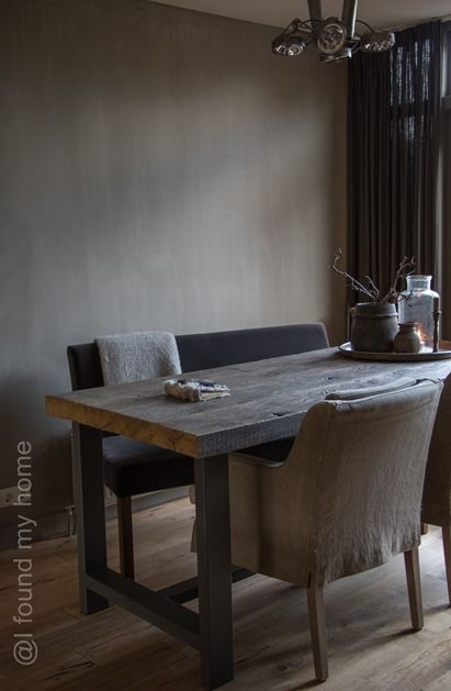 I found my home: De tafel…..