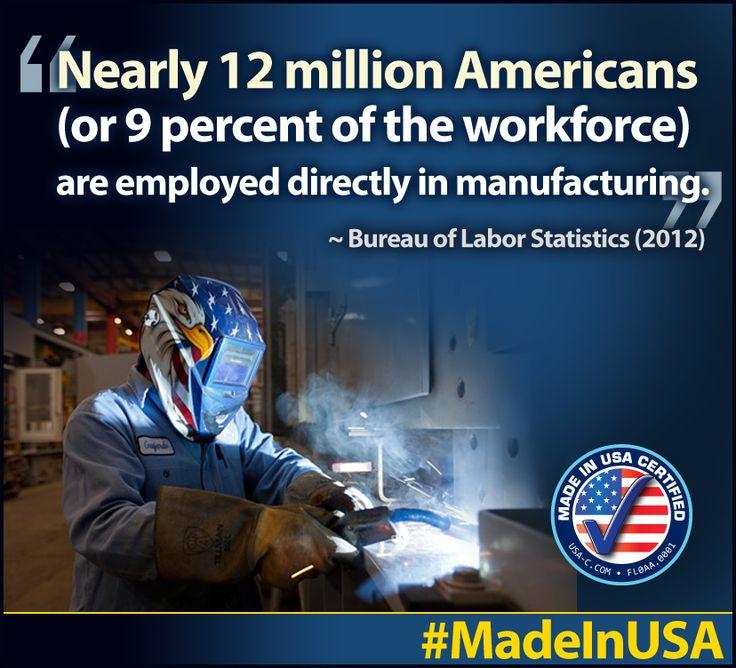 #MadeinUSA  Made in USA Certified: www.USA-C.com