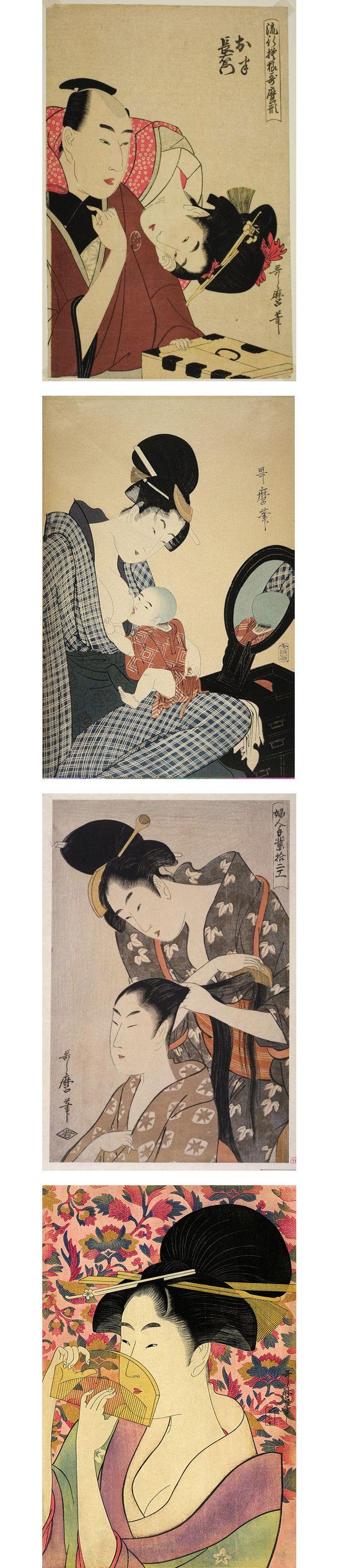Le donne di Kitagawa Utamaro