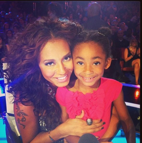 Mel B & Angel - so cute mother and daughter