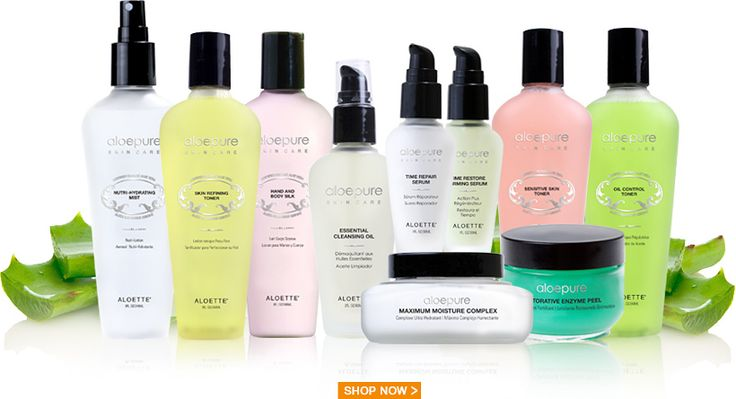 Full product catalog from Aloette.us Certified Organic