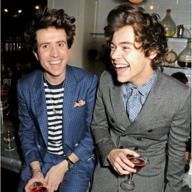 BBC Radio One DJ Nick 'Grimmers' Grimshaw with Harry Stles of 'One Direction' wollydingdong's photo on Instagram