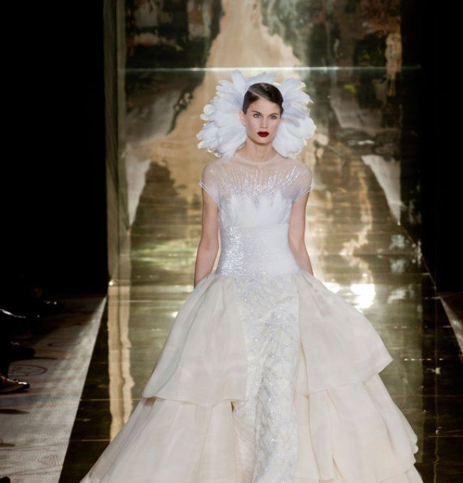 Robe de mariée Georges Chakra Haute Couture automne-hiver 2012/2013