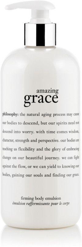 philosophy Amazing Grace Perfumed Firming Body Emulsion - 16 oz Amazing Grace Perfume and Fragrance #relojes #perfumes #fragances #bags #bolso #shampoo #watchmichaelkors #Watches #perfumecarolinaherrera