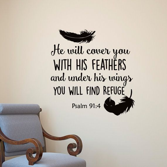 Best Bible Verse Scripture Wall Decals Images On Pinterest - Vinyl wall decals bible verses