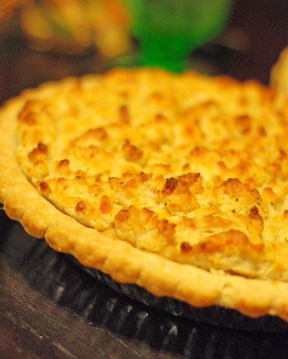 Lobster Pot Pie, with Cheddar Bay Biscuit Crust « Gourmet and Comfort Food Blog by Two Hot Potatoes