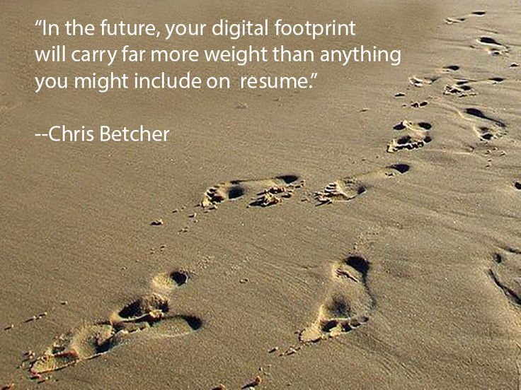 What To Tell Your Students About Managing Their Digital Footprints