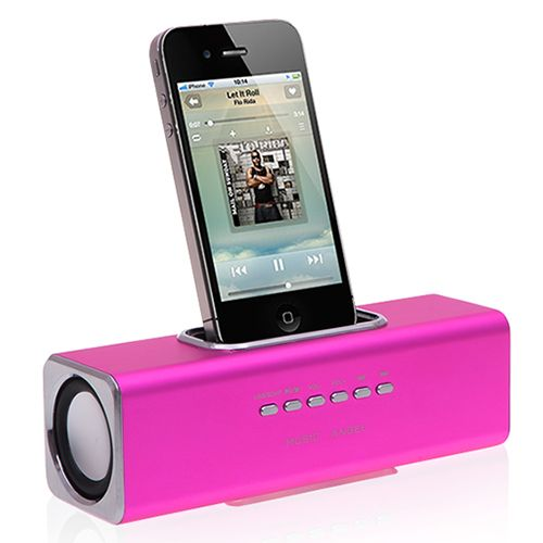 Music Angel Box Speaker Magenta Smartphone Music Box #music #angel #speaker #magenta #smartphone #musicbox $26.65