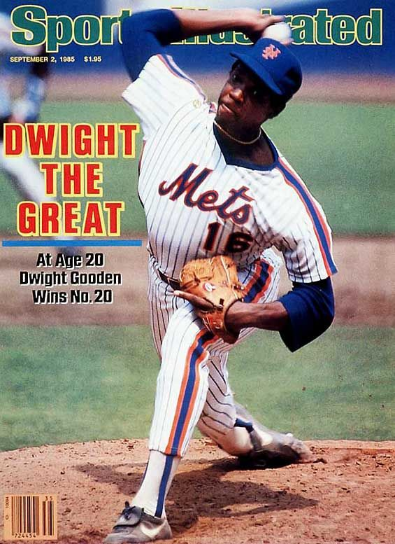Dwight Gooden, Sports Illustrated Cover, September 2, 1985