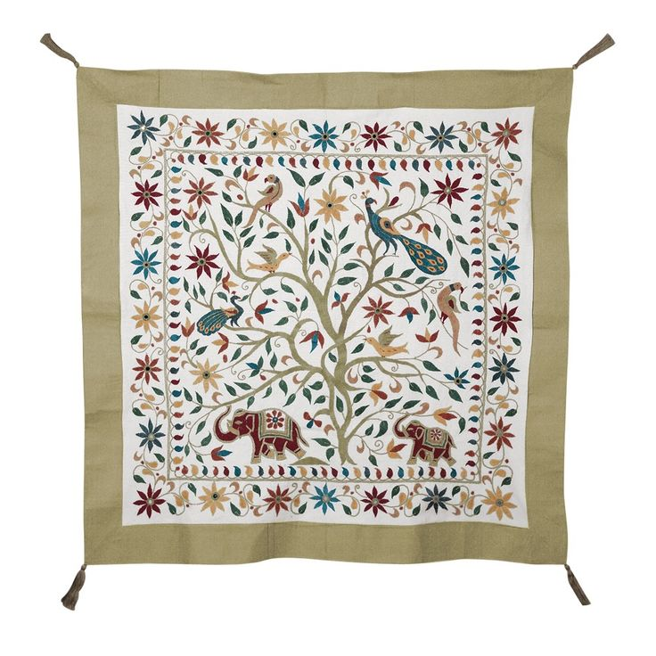 Wall Hangings Embroidered Wall Hanging At Ten Thousand Villages Wall Art
