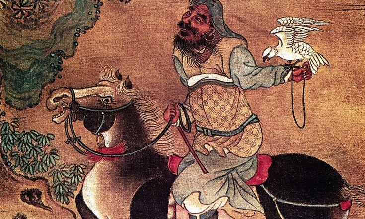 The Mongol ruler Genghis Khan, born in the year of the horse.