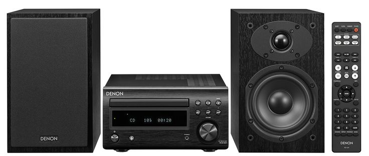 D-M41   HiFi System with CD and Bluetooth   Denon