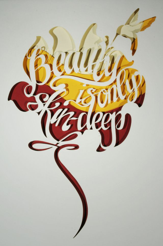 eva markova layered paper cut typography all about paper pinterest proverbs typography