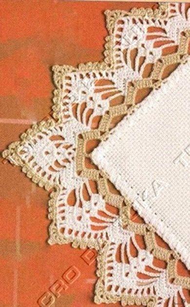 TRI CRO DA TUKA: barradinho/crochê [] # # #Crochet #Borders, # #Crochet #Edgings, # #Cloth, # #Income, # #Tric