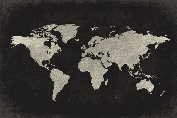 Keep Calm Collection - World Map Vintage Style (Charcoal), poster print, $5.99 (http://www.keepcalmcollection.com/world-map-vintage-style-charcoal-poster-print/)