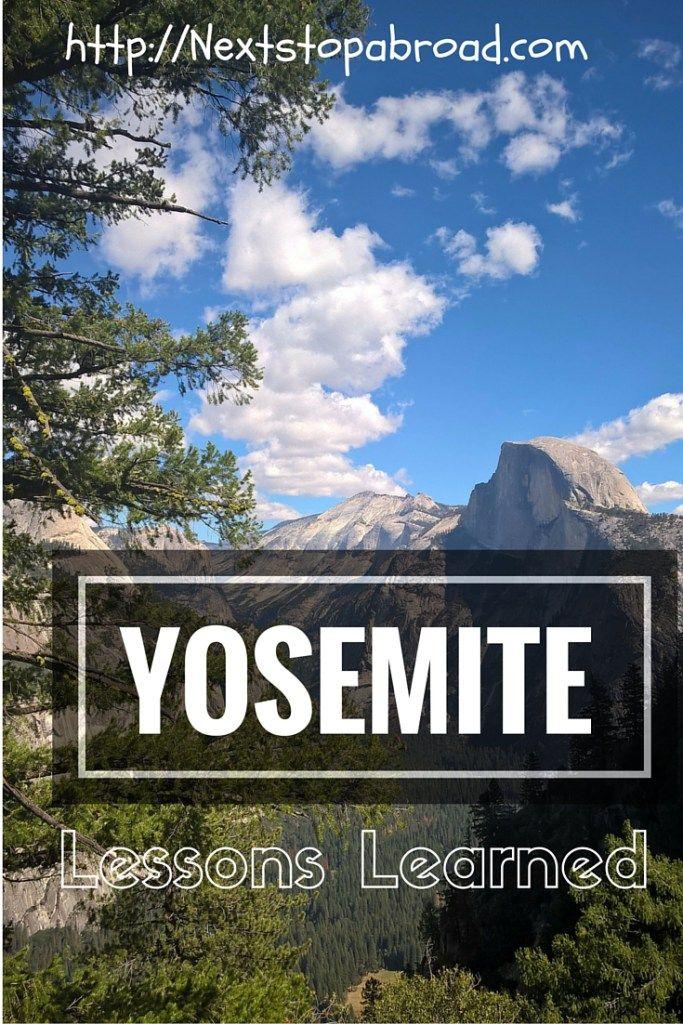 exploring beautiful Yosemite National Park, USA
