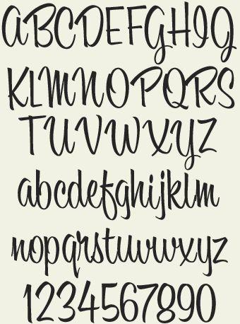 Letterhead Fonts / LHF Bounce Script / Hand-lettered Script