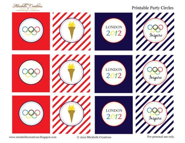 Free Olympic Printables