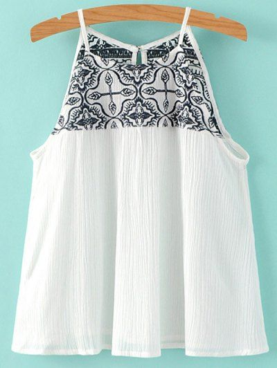 GET $50 NOW | Join Zaful: Get YOUR $50 NOW!http://m.zaful.com/cami-embroidery-pleated-tank-top-p_193092.html?seid=3104474zf193092