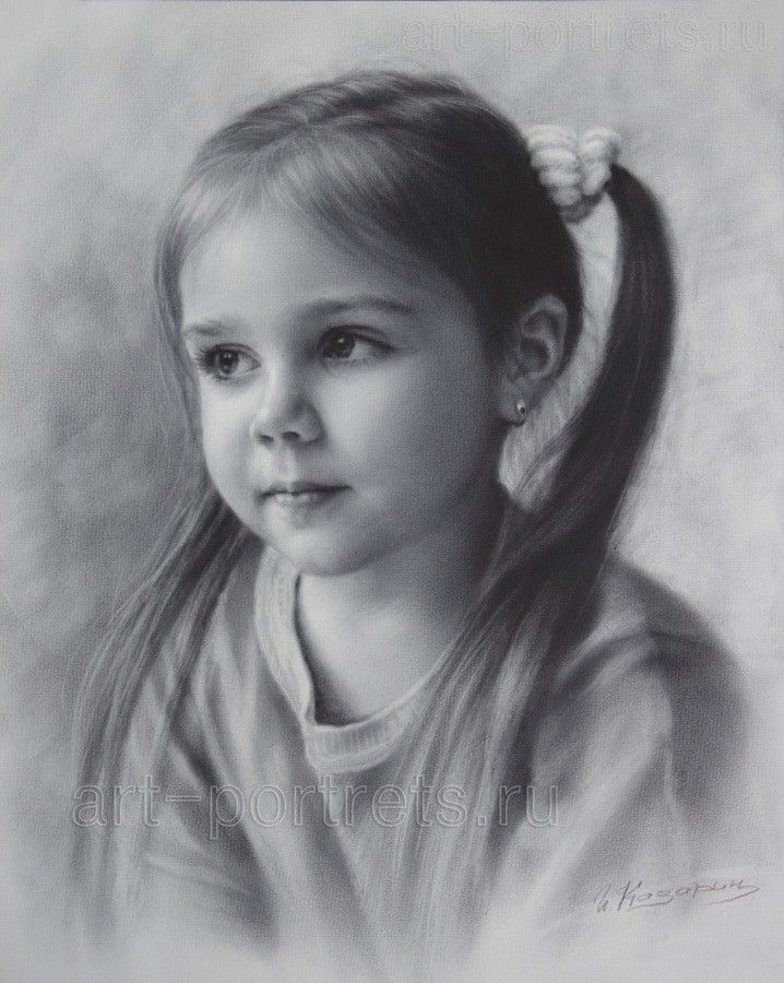 Картинки для художников карандашом, черном фоне