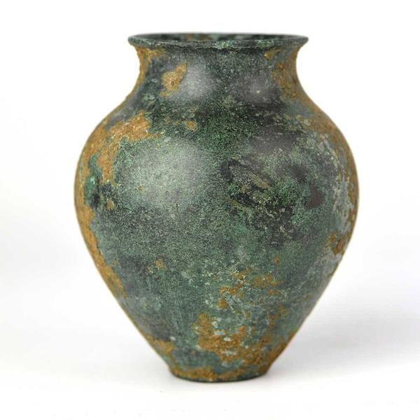 An small Bronze Vessel, ca 800 BC