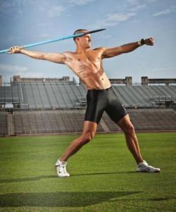 Trey Hardee, USA Olympic team, decathlon silver