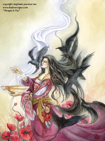 Morgen le Fay by Stephanie Pui-Min Law