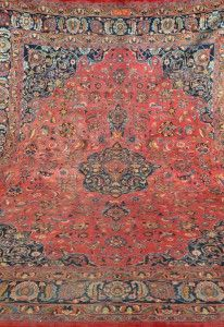 Four Year Fabulous - Provenance Auction House: Mashad Carpet.