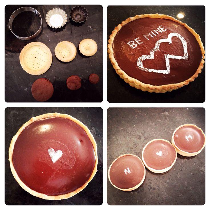 LaBKRY valentine chocolate pie!! #bemine #chocolatepie #ganache #cream #pie #chocolate #valentine #stvalentin #valentinedessert #dessert #dessertmontreal #mtl #montreal #minitartes #tartes #pastry #pastryschool #maisoncf #love #heart Natasha Bouchard