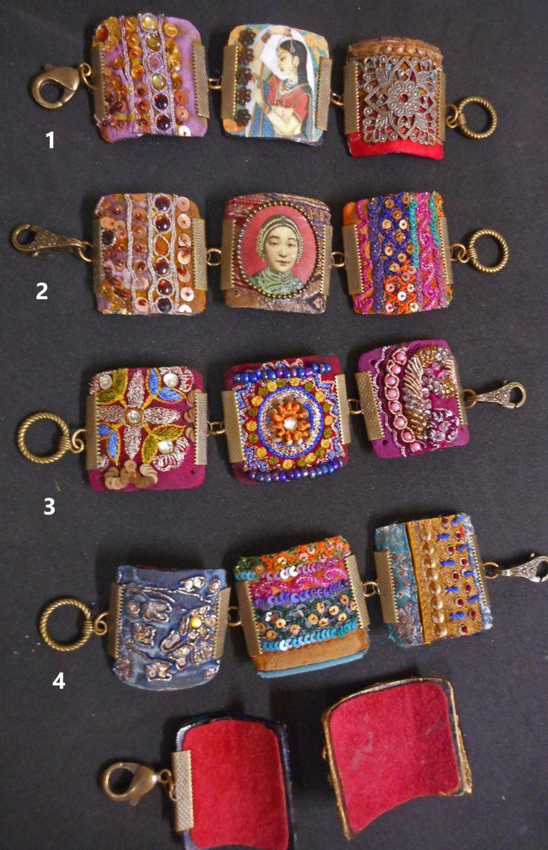 Fragments of glory bracelets by pearlredmoon on Etsy