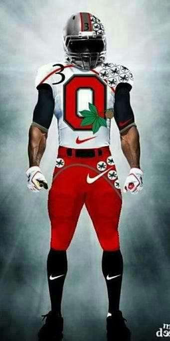 I want to see this on the field. OHIO STATE BUCKEYES BABY.