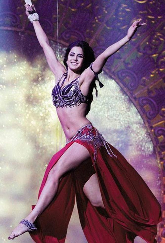 Katrina Kaif sure was a memorable sight in Dhoom 3.