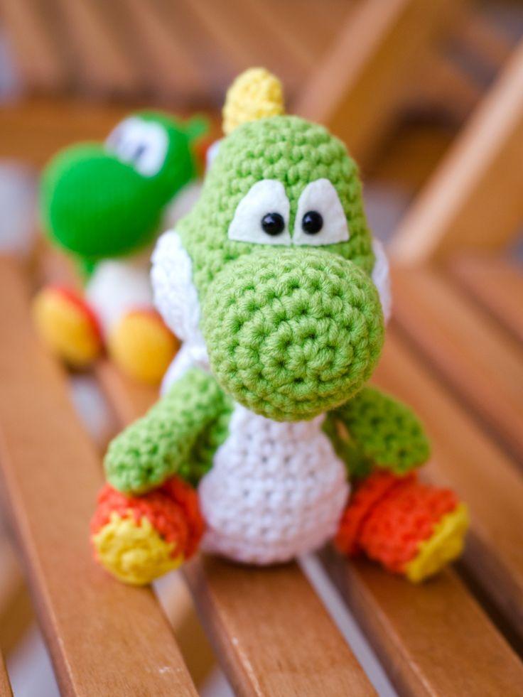 Free Crochet Pattern For Yoshi