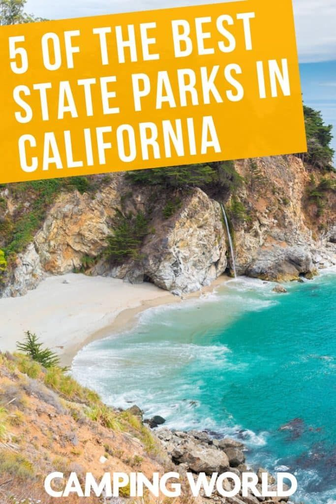 5 Of The Best State Parks In California State Parks California Camping Malibu Creek State Park