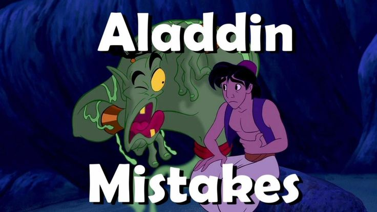 Aladdin Movie Mistakes, Spoilers, Bloopers, Goofs and Fails