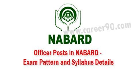 Officer Posts in NABARD - Exam Pattern & Syllabus.#nabard #pattern #syllabus