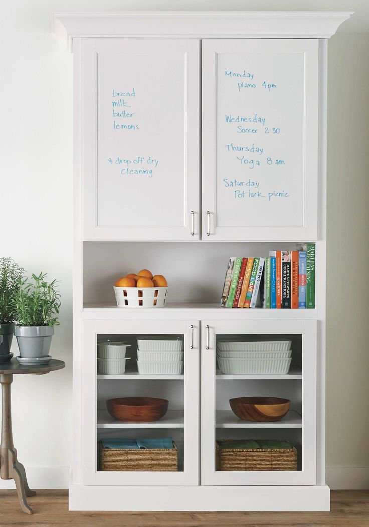 Take note of this organized message center from Martha Stewart Living at @homedepot!