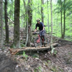 Vélo de montagne Mont Hereford et Parc de la Gorge