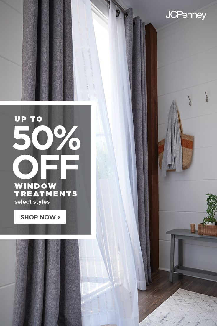 Jcpenney Is The Window Authority Warm Up Your Windows And Add