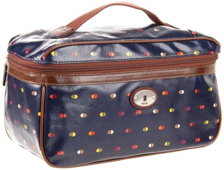 Fossil Women's Key Per Travel Kit - LOVE this bag for all my makeup and toiletries