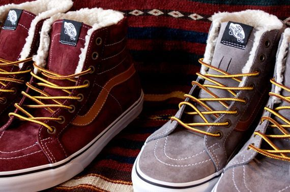 "Vans Fleece Sk8-Hi ""Scotchgard"" Pack"