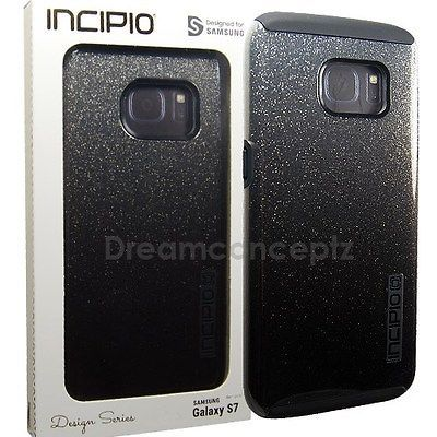 INCIPIO DualPro Glitter Design CASE for Samsung Galaxy S7 Only Sparkle Black