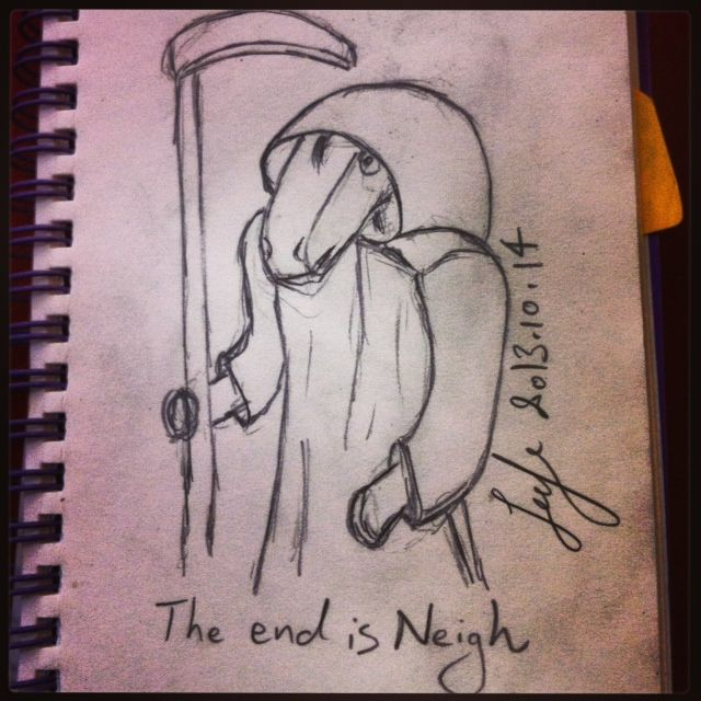 The end is Neigh