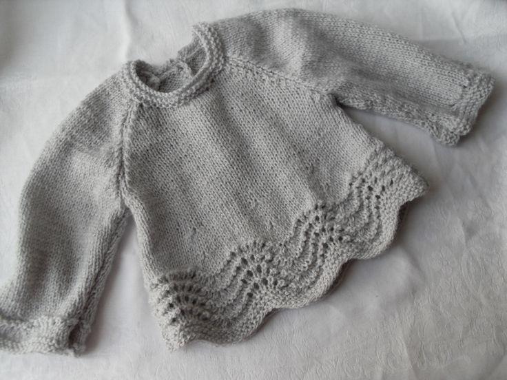 modèle brassiere bébé au tricot
