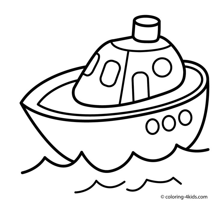 ship transportation coloring pages for kids printable free
